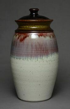 Jar with Ash Glaze